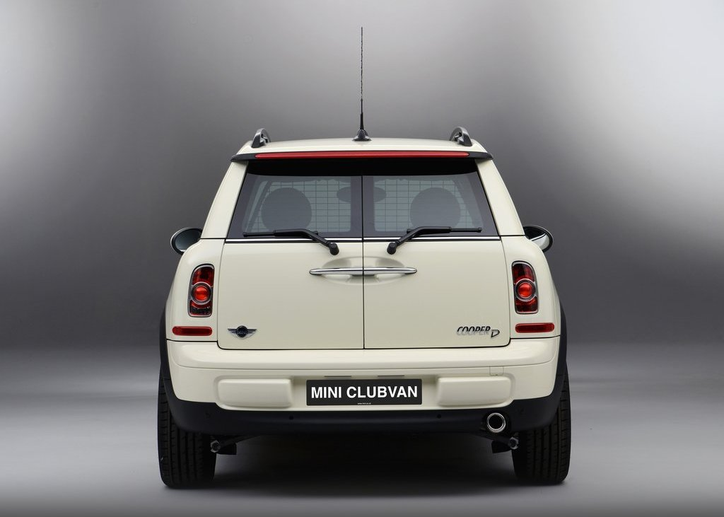 2013 Mini Clubvan Rear (Photo 4 of 8)