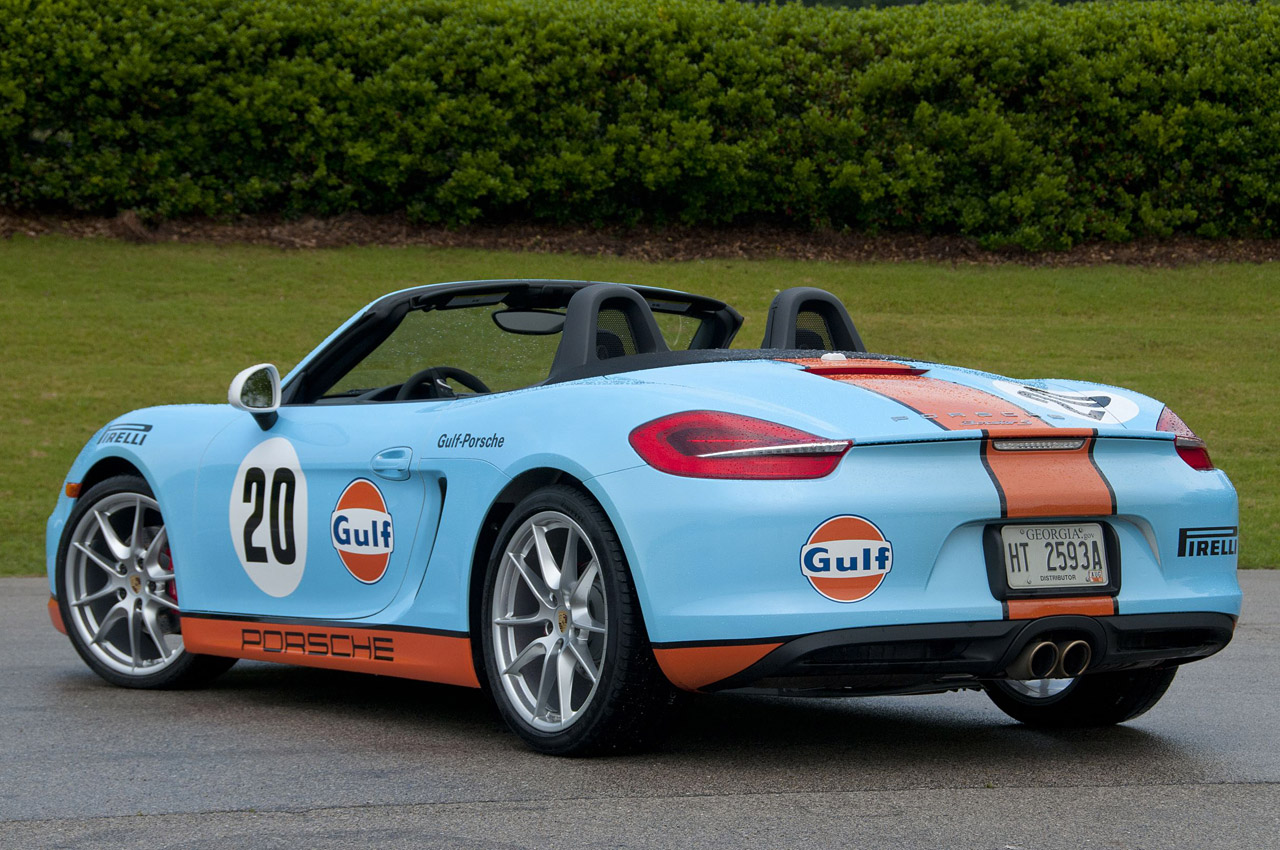 2013 Porsche Boxster S Rear Angle (View 8 of 15)