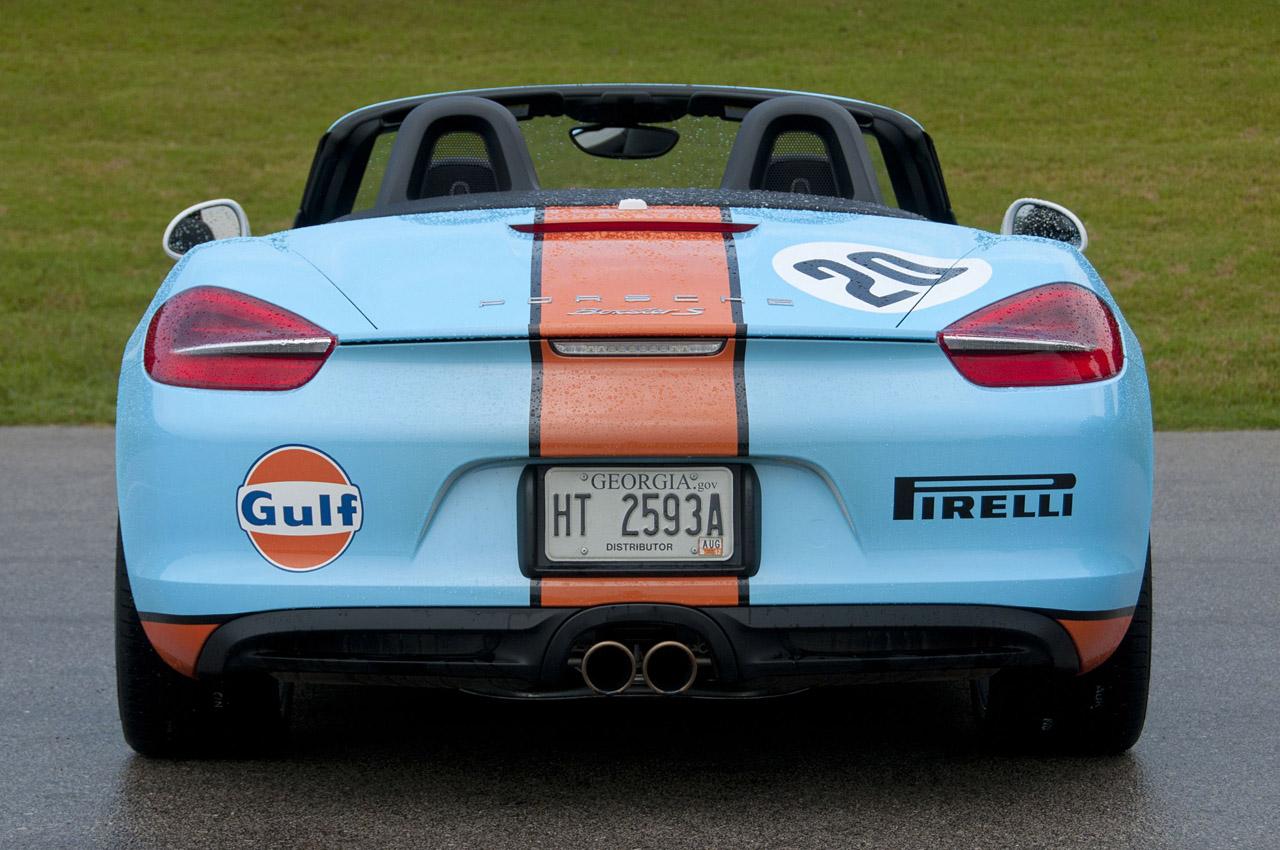 2013 Porsche Boxster S Rear (Photo 9 of 15)