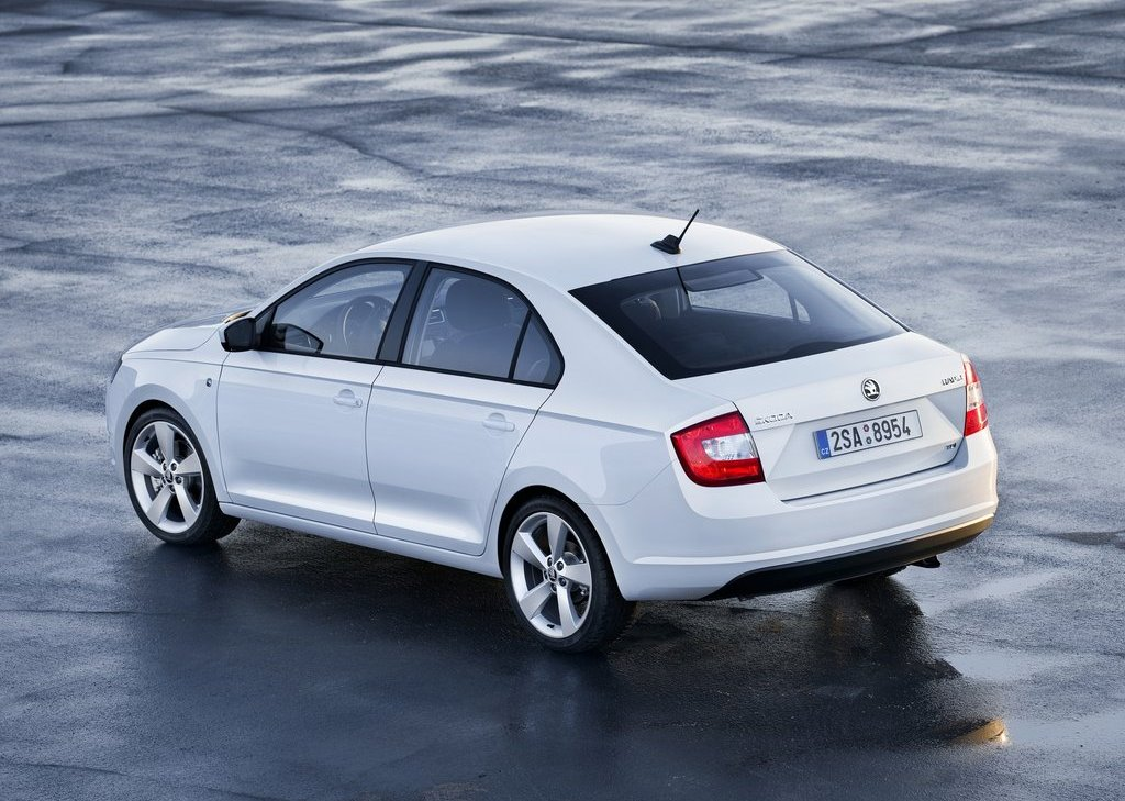 2013 Skoda Rapid Rear (Photo 2 of 2)