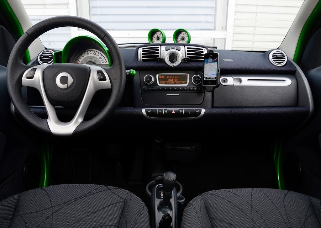 2013 Smart Fortwo Electric Drive Interior (View 10 of 15)