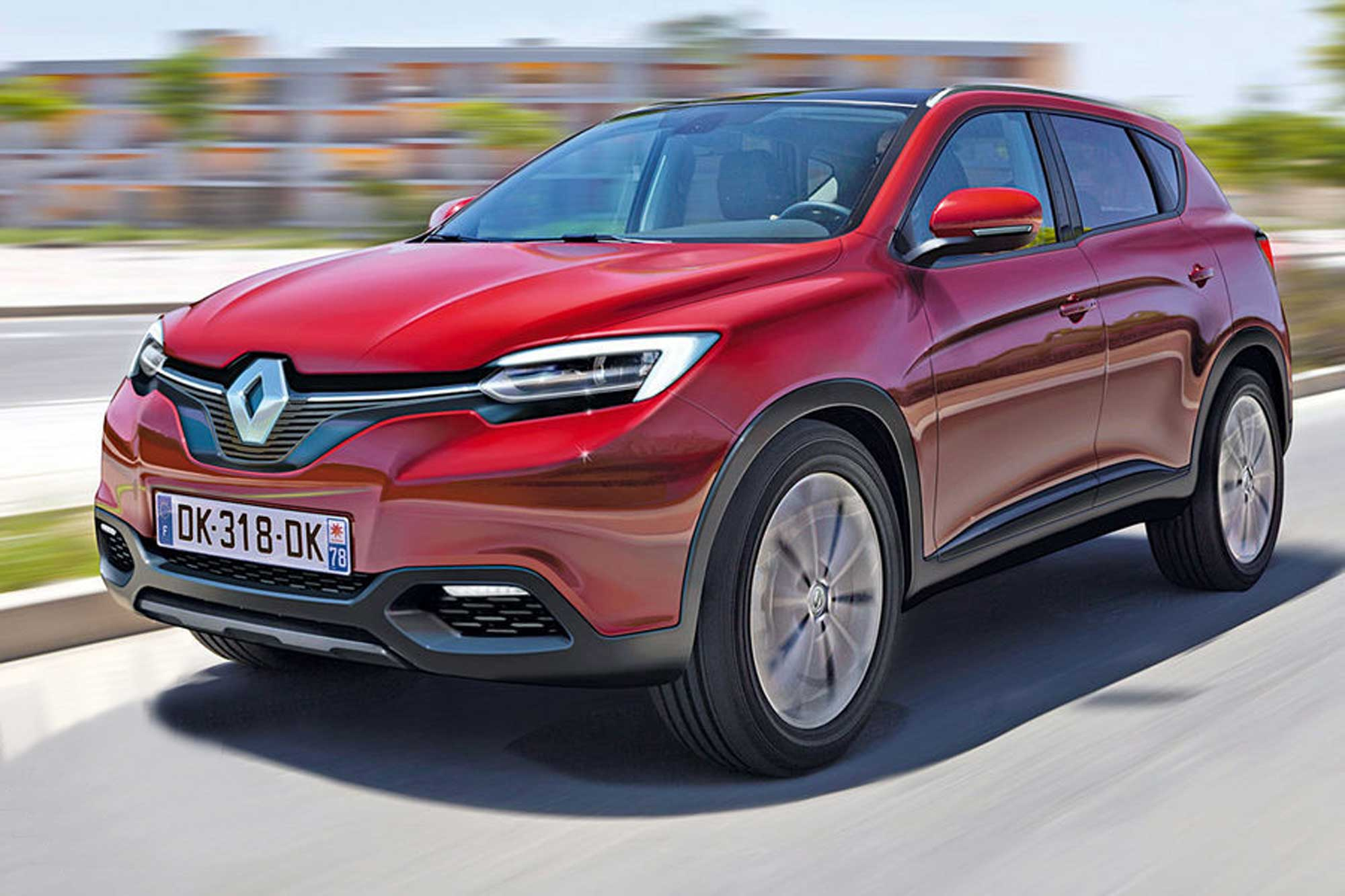 Featured Image of 2015 Renault Megane SUV Preview