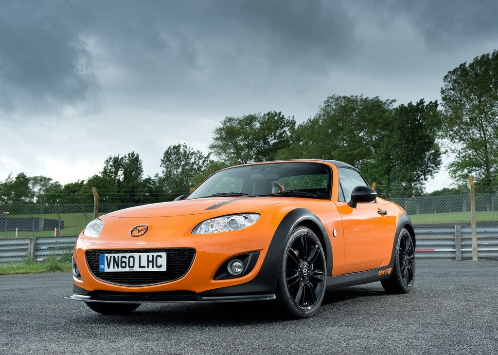 2012 Mazda MX 5 GT Front View (Photo 5 of 11)