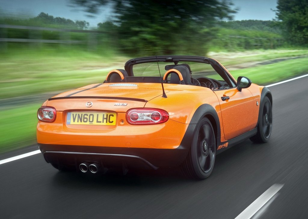 2012 Mazda MX 5 GT Rear Angle (Photo 9 of 11)