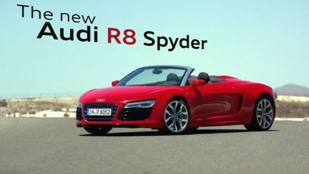 Featured Image of 2013 Audi R8 Spyder Price Review