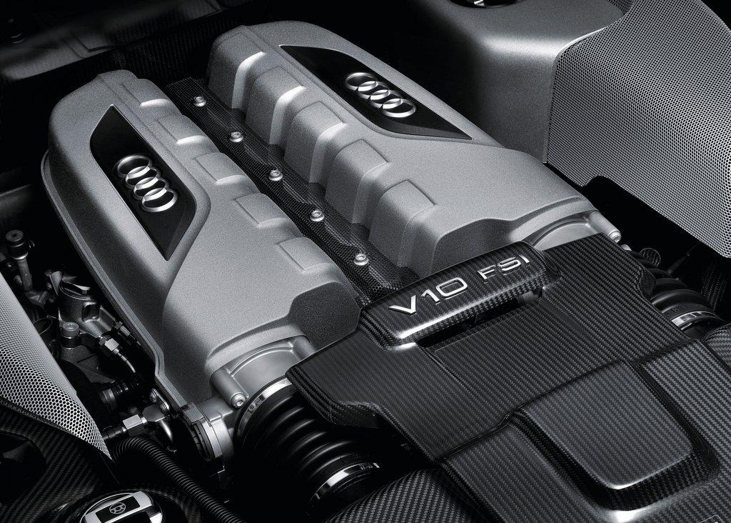 2013 Audi R8 V10 Plus Engine (View 1 of 3)