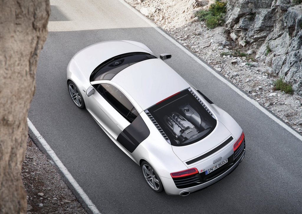 2013 Audi R8 V10 Top View (Photo 4 of 4)