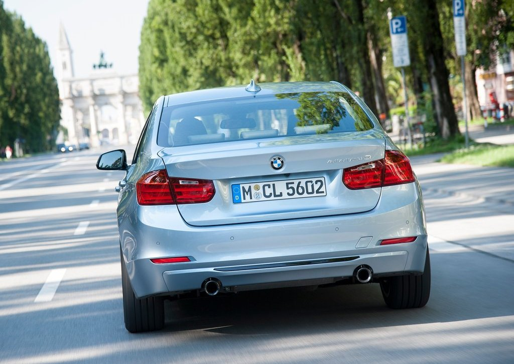 2013 BMW 3 Series Active Hybrid Rear (Photo 9 of 15)