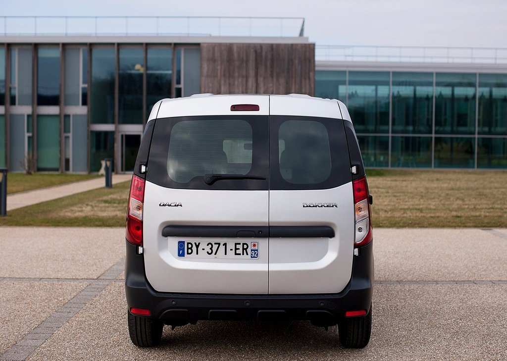 2013 Dacia Dokker Van Rear (Photo 12 of 20)