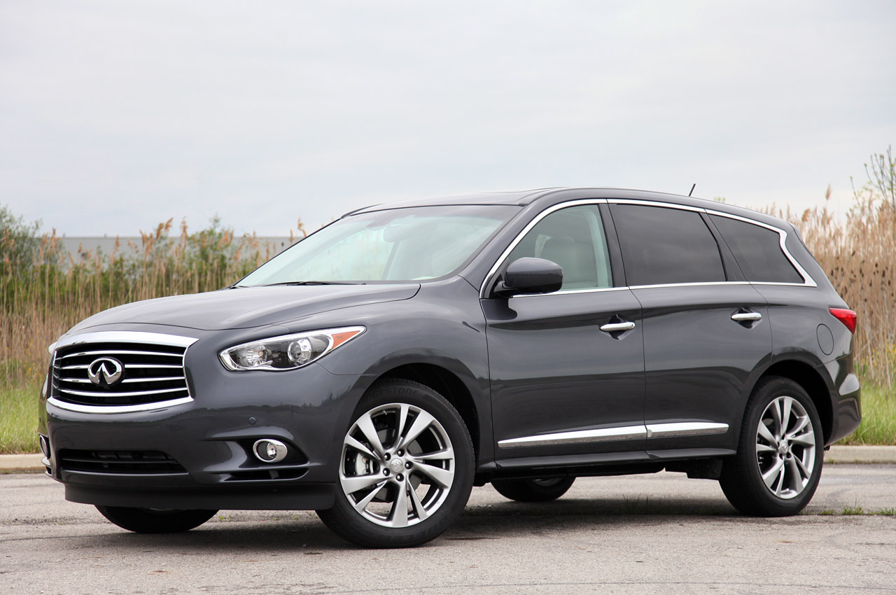 2013 Infiniti JX35 Front Angle (View 2 of 12)