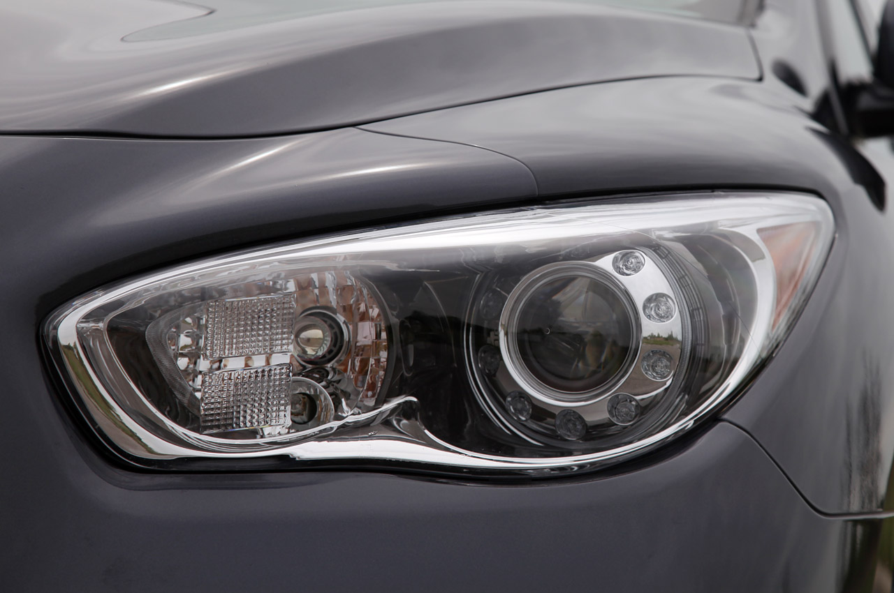 2013 Infiniti JX35 Head Lamp (Photo 6 of 12)