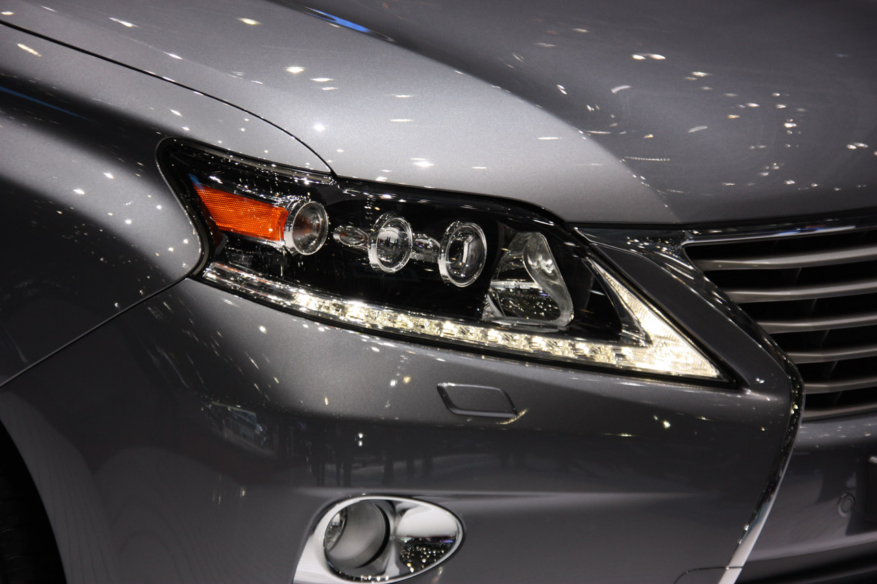 2013 Lexus RX Head Lamp (View 4 of 9)