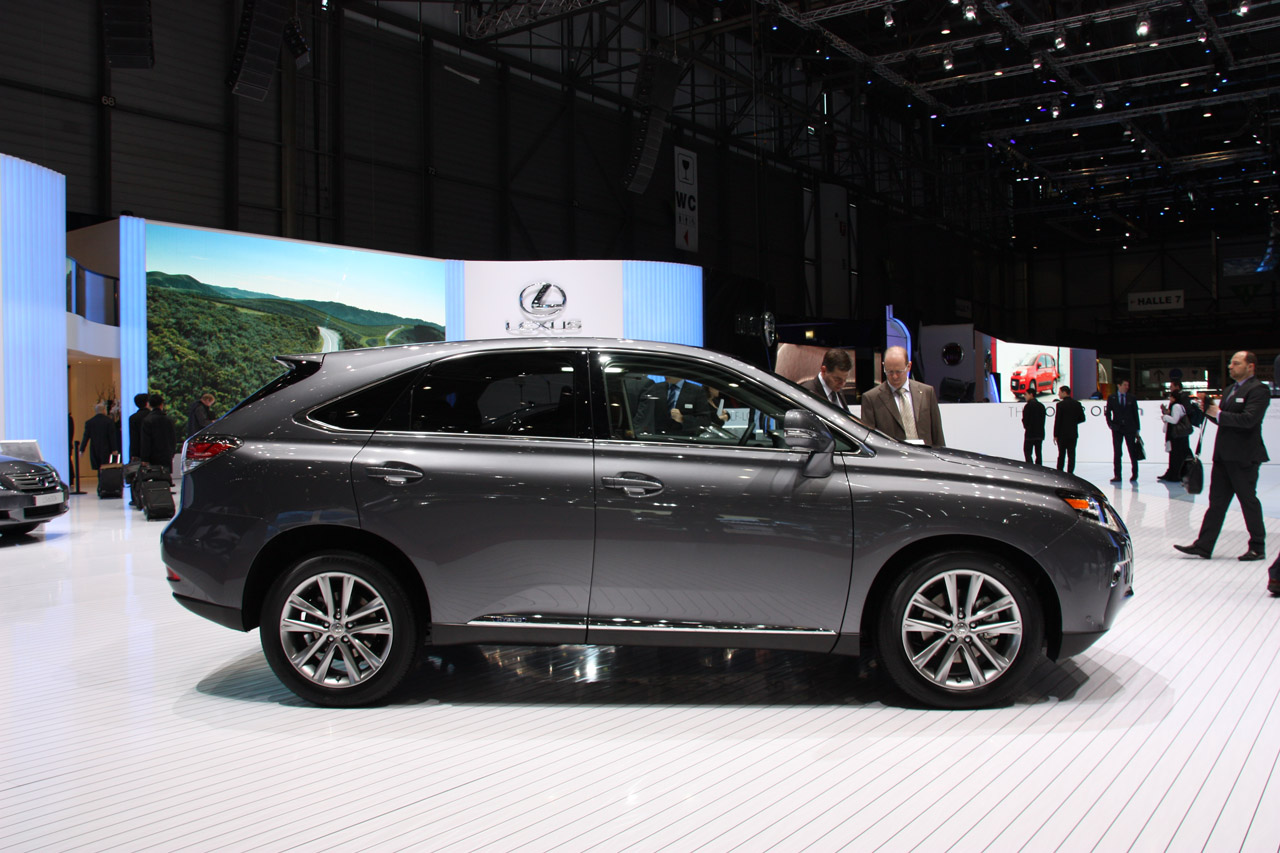 2013 Lexus RX Side (Photo 8 of 9)