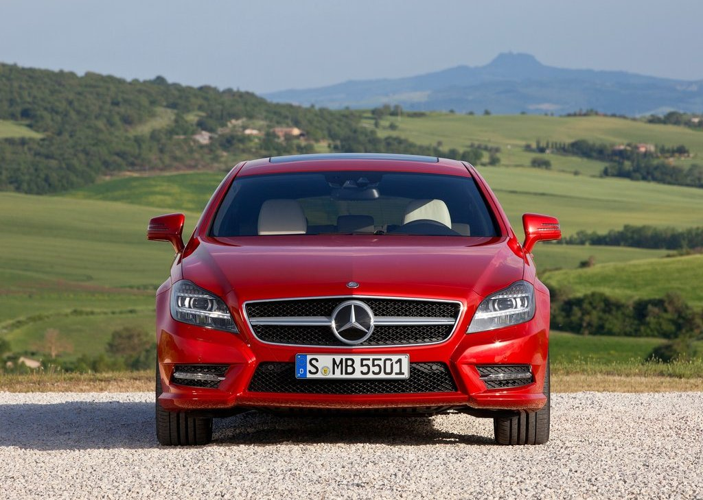 2013 Mercedes Benz CLS Shooting Brake Front (Photo 5 of 18)