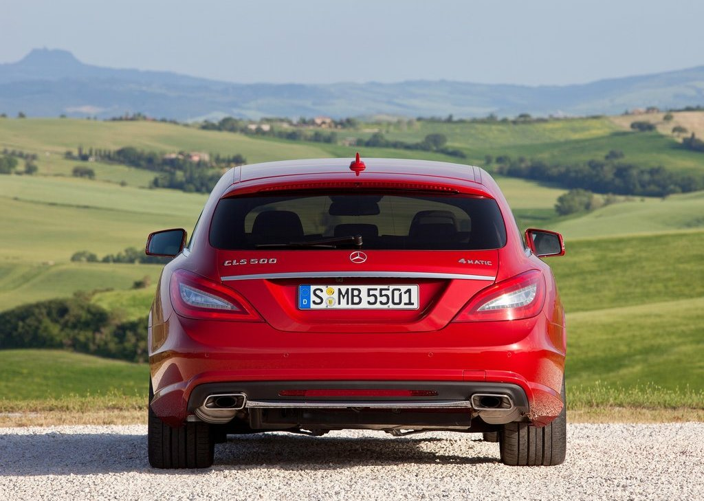 2013 Mercedes Benz CLS Shooting Brake Rear (Photo 12 of 18)