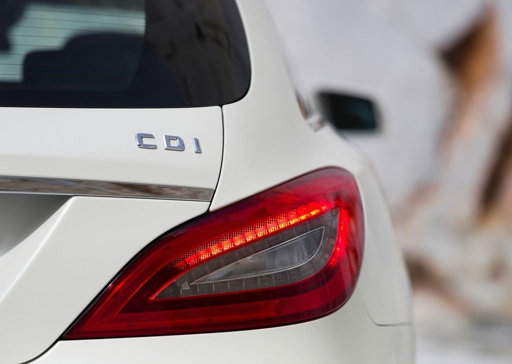 2013 Mercedes Benz CLS Shooting Brake Tail Lamp (Photo 16 of 18)