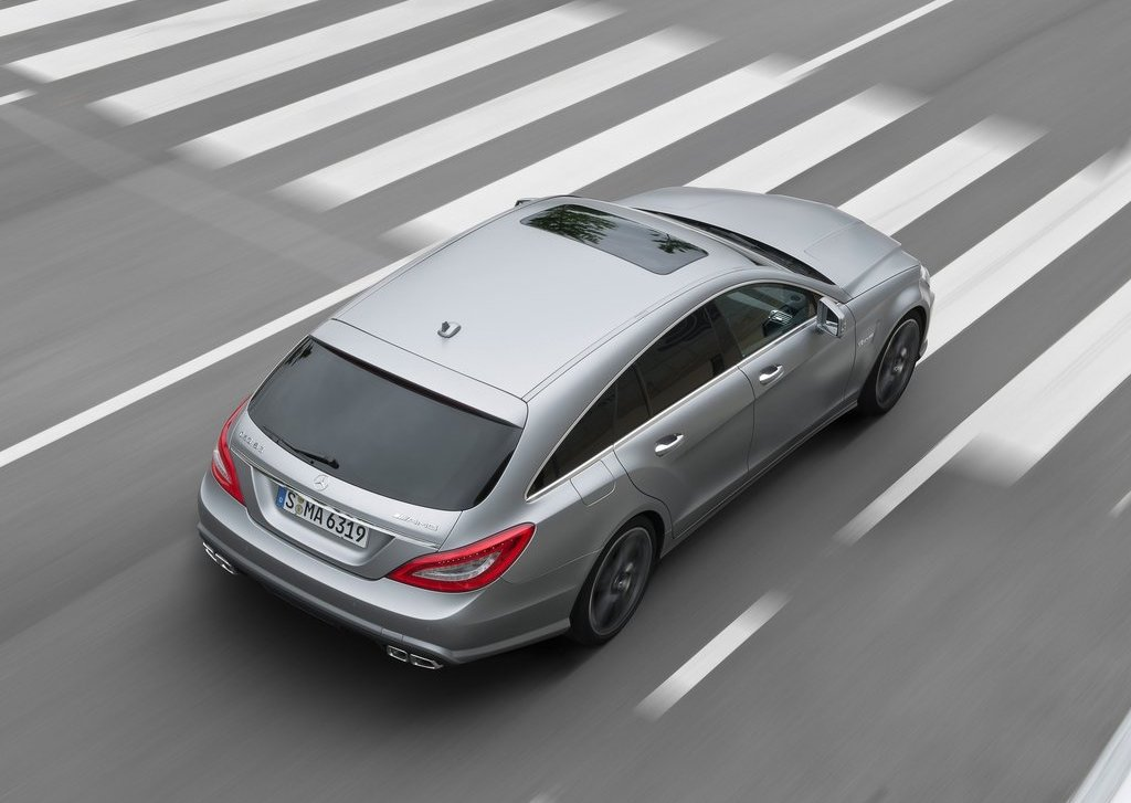 2013 Mercedes Benz CLS63 AMG Shooting Brake Rear (Photo 6 of 8)