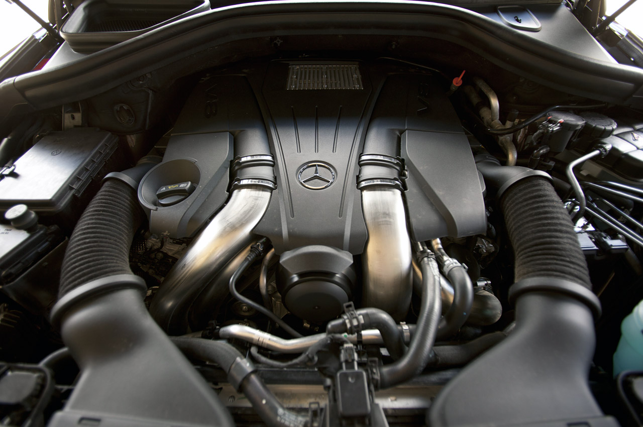 2013 Mercedes Benz GL450 Engine (View 2 of 13)
