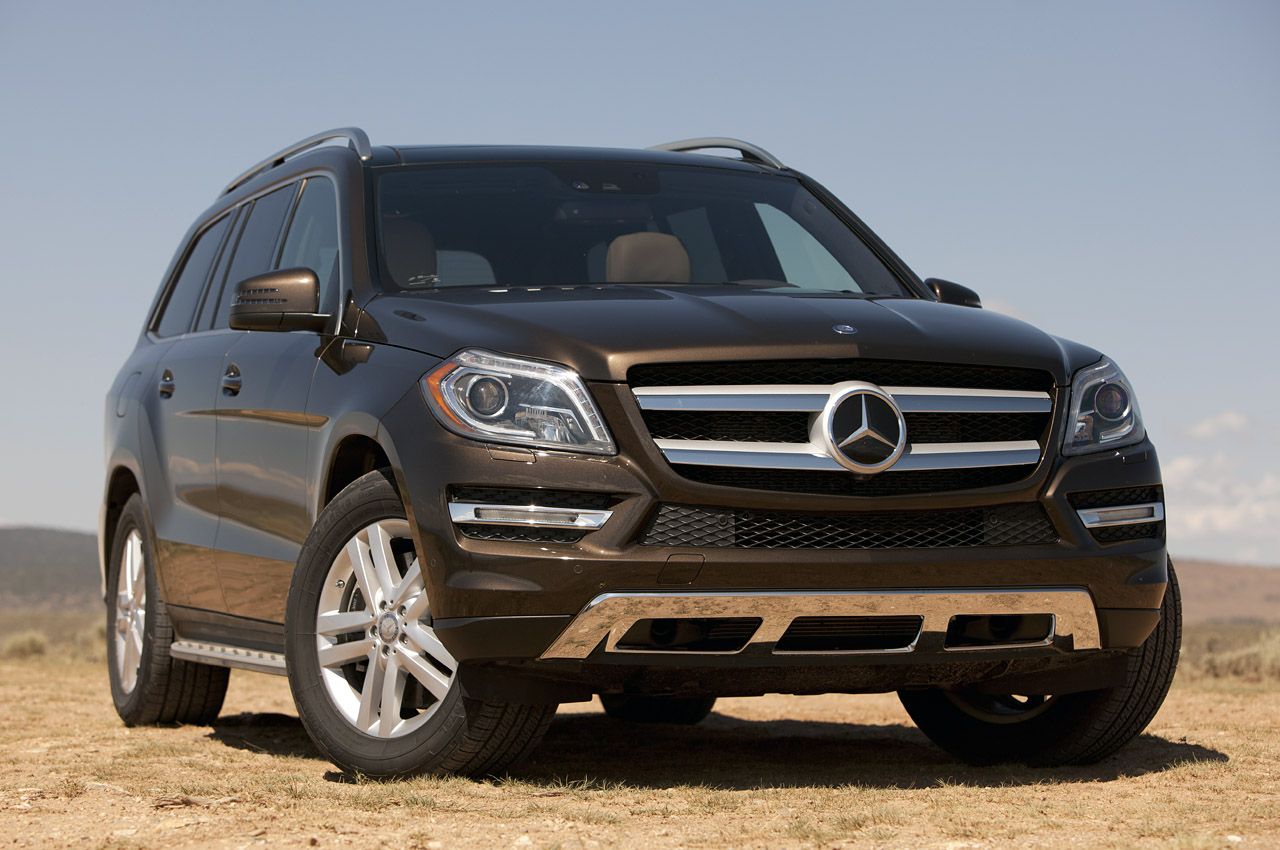 2013 Mercedes Benz GL450 Front (View 5 of 13)