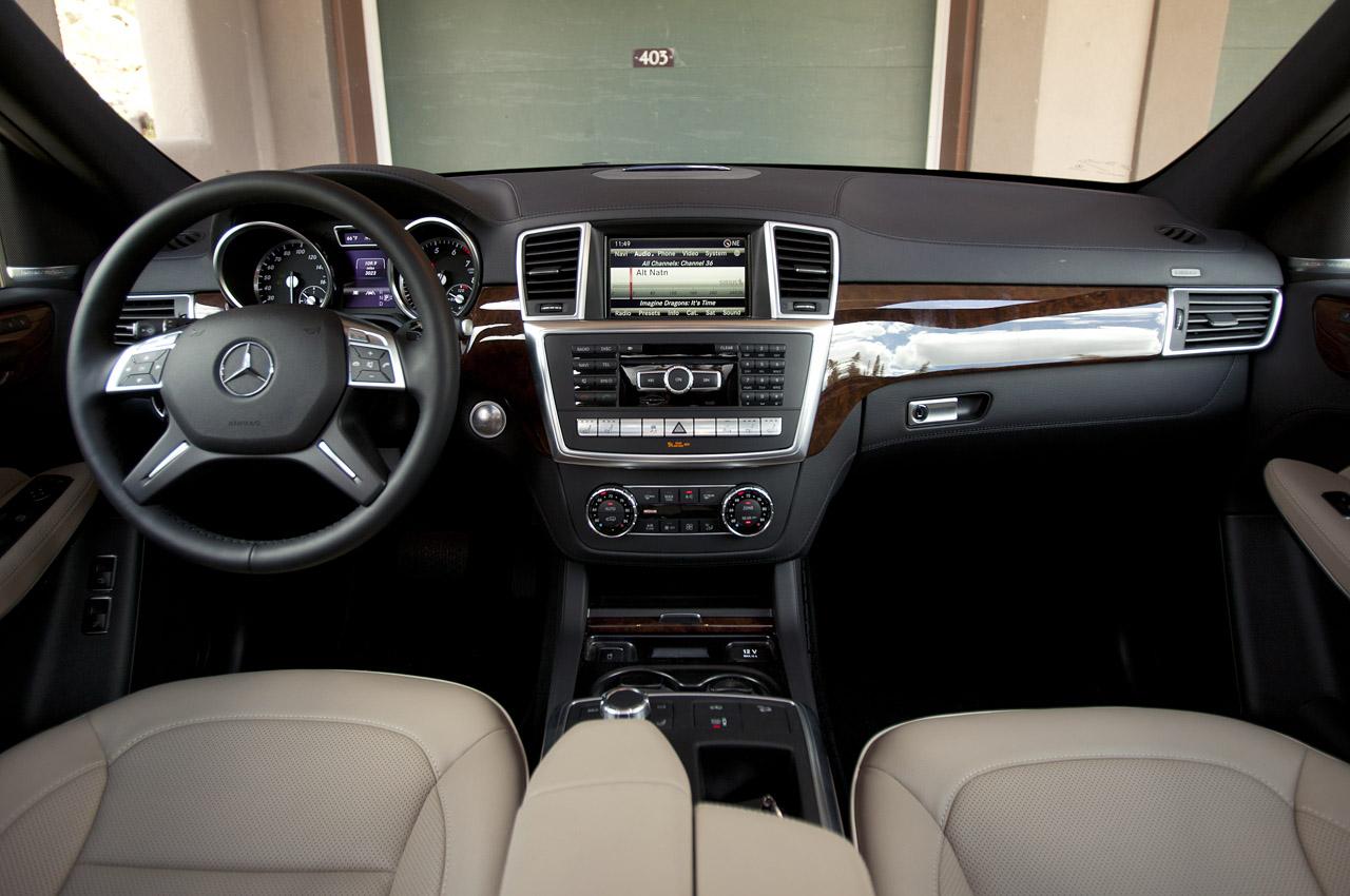2013 Mercedes Benz GL450 Interior (View 7 of 13)