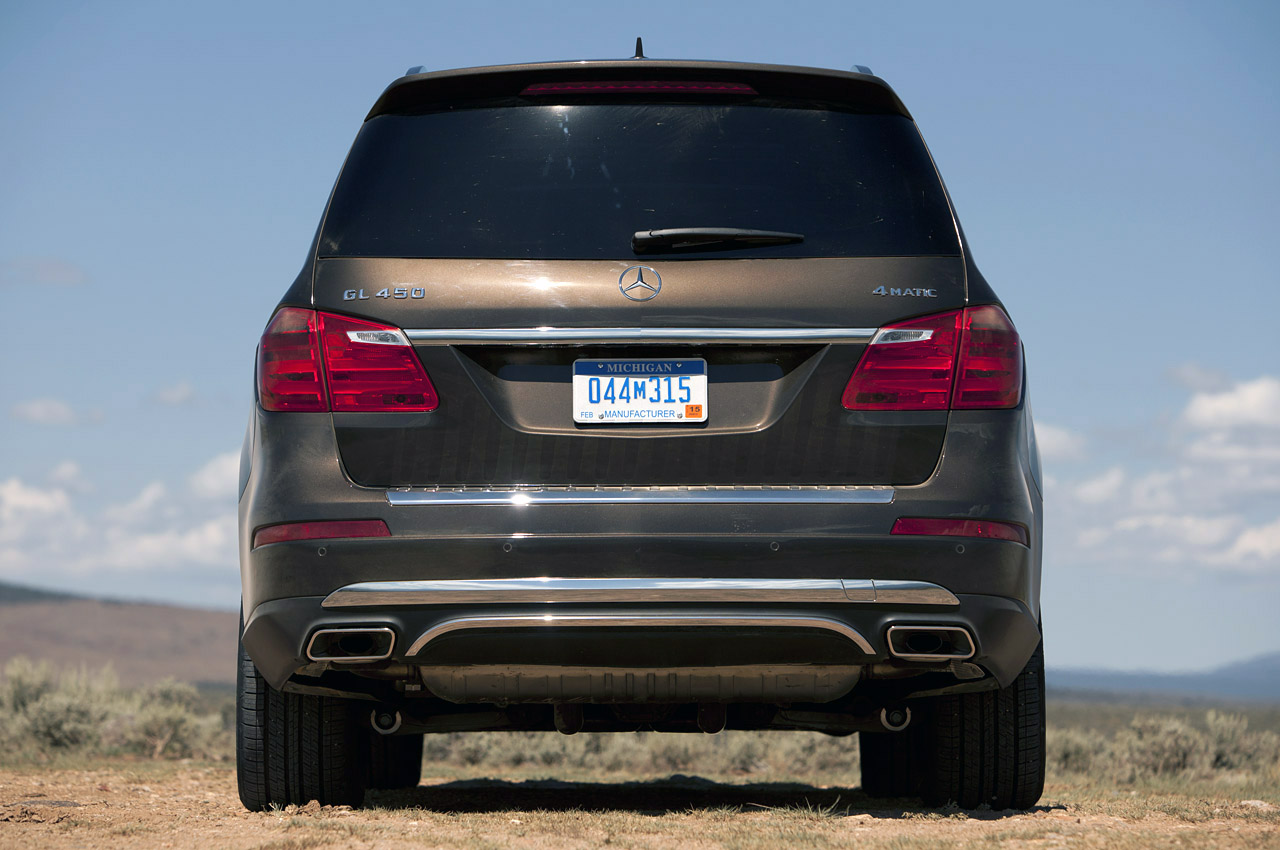 2013 Mercedes Benz GL450 Rear (View 9 of 13)