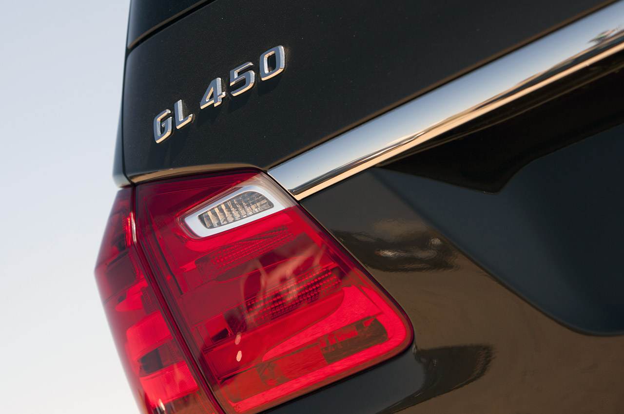 2013 Mercedes Benz GL450 Tail Lamp (View 11 of 13)