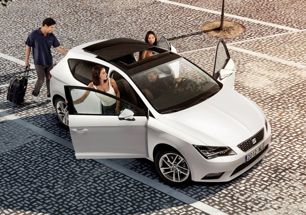 2013 Seat Leon Top View (Photo 10 of 10)