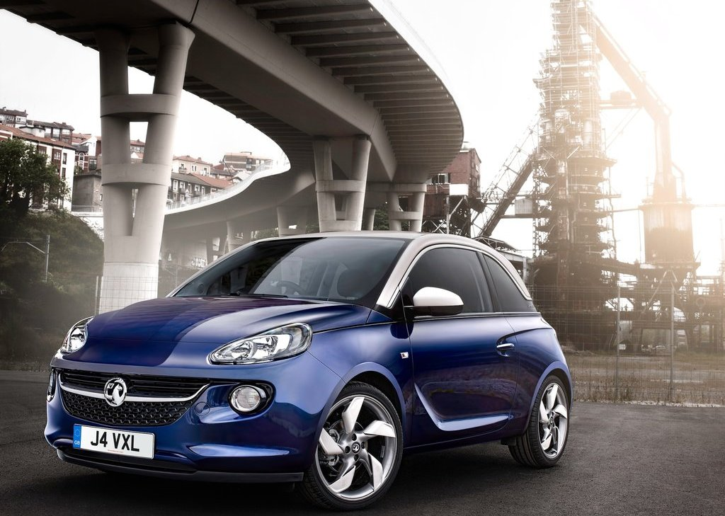 2013 Vauxhall Adam Front Angle (Photo 4 of 8)