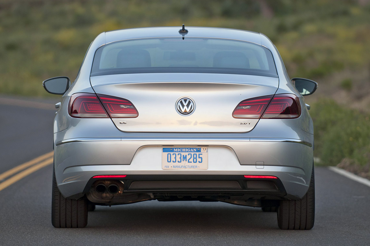 2013 Volkswagen CC Rear (Photo 9 of 14)