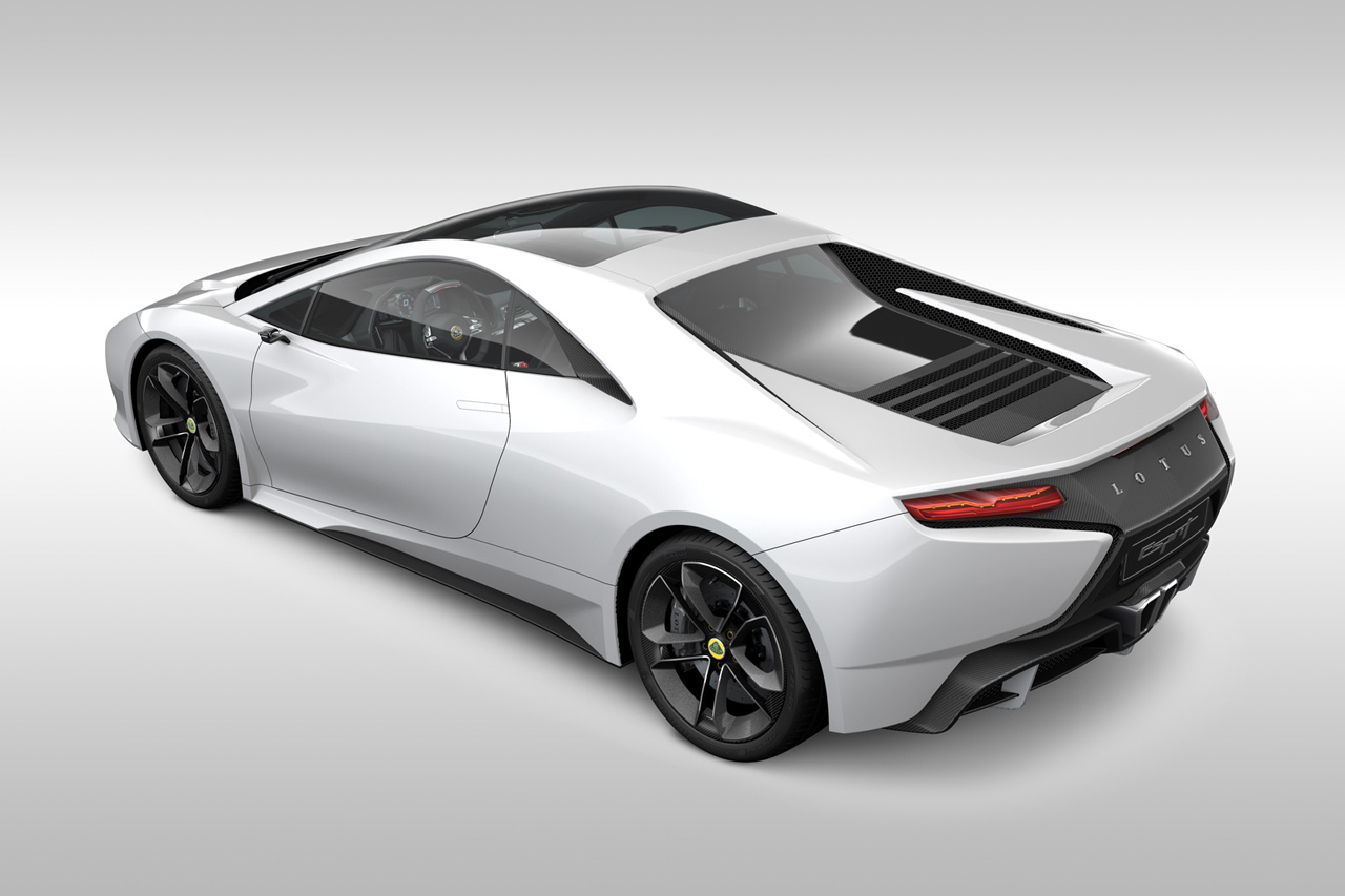 2014 Lotus Esprit Rear Angle (View 4 of 7)
