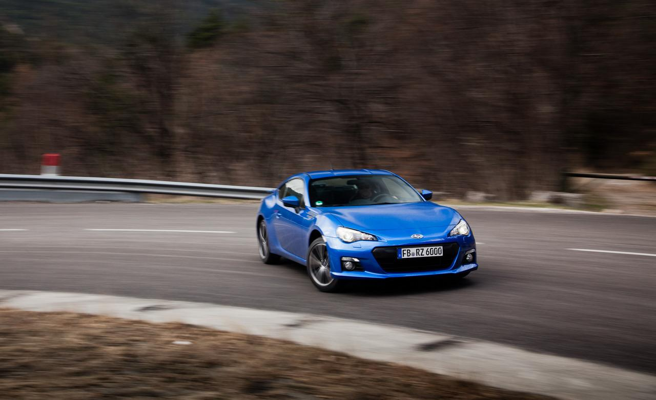 2015 Subaru BRZ Turbo Front View (Photo 4 of 7)