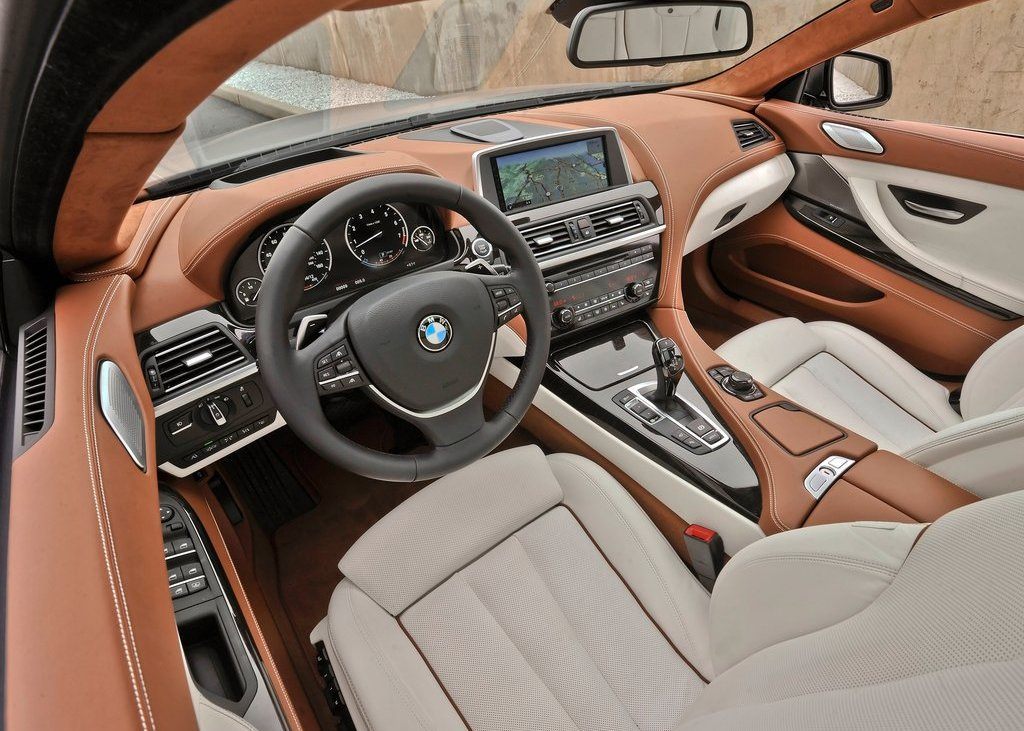 2013 BMW 640i Gran Coupe Interior (Photo 5 of 9)