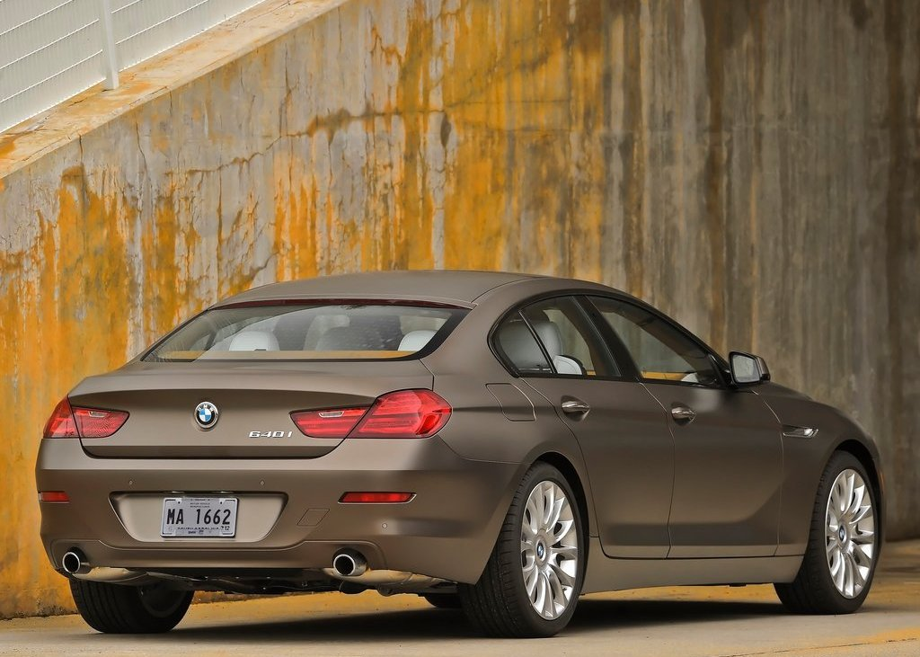 2013 BMW 640i Gran Coupe Rear Angle (Photo 8 of 9)