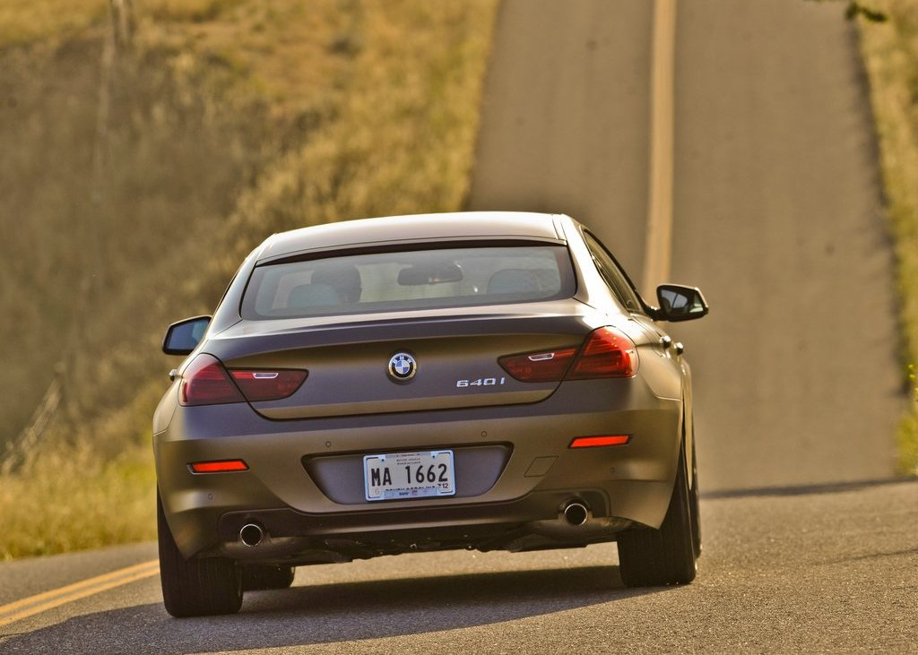 2013 BMW 640i Gran Coupe Rear (Photo 7 of 9)