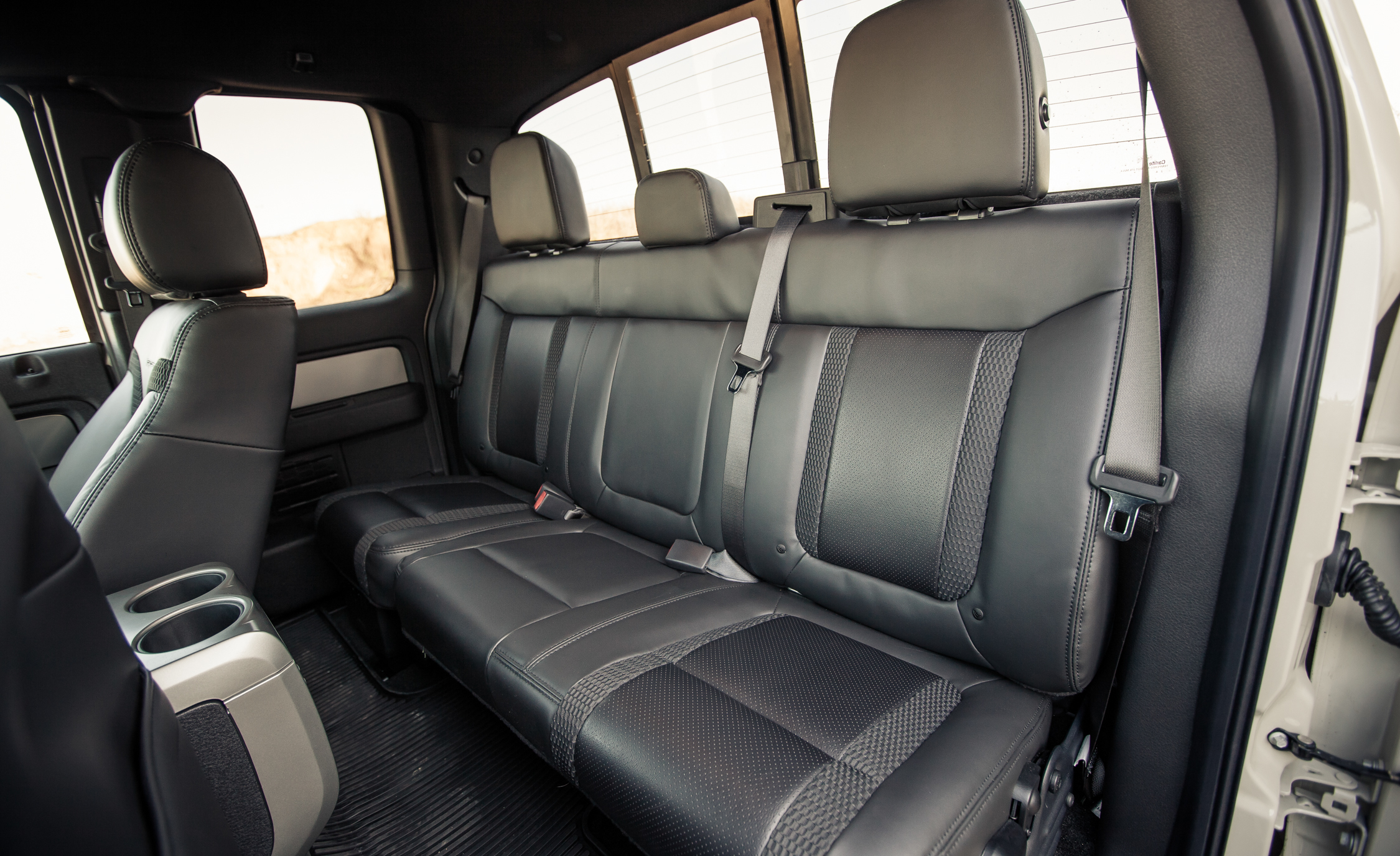 2013 Ford F 150 SVT Raptor SuperCab Interior Seats Rear (Photo 19 of 39)