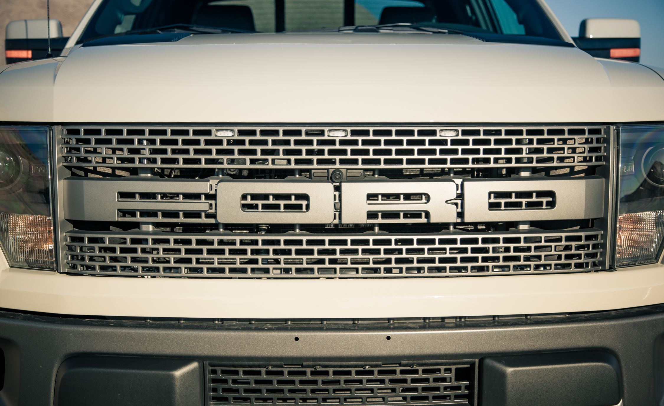 2013 Ford F 150 SVT Raptor Exterior View Grille (Photo 7 of 39)