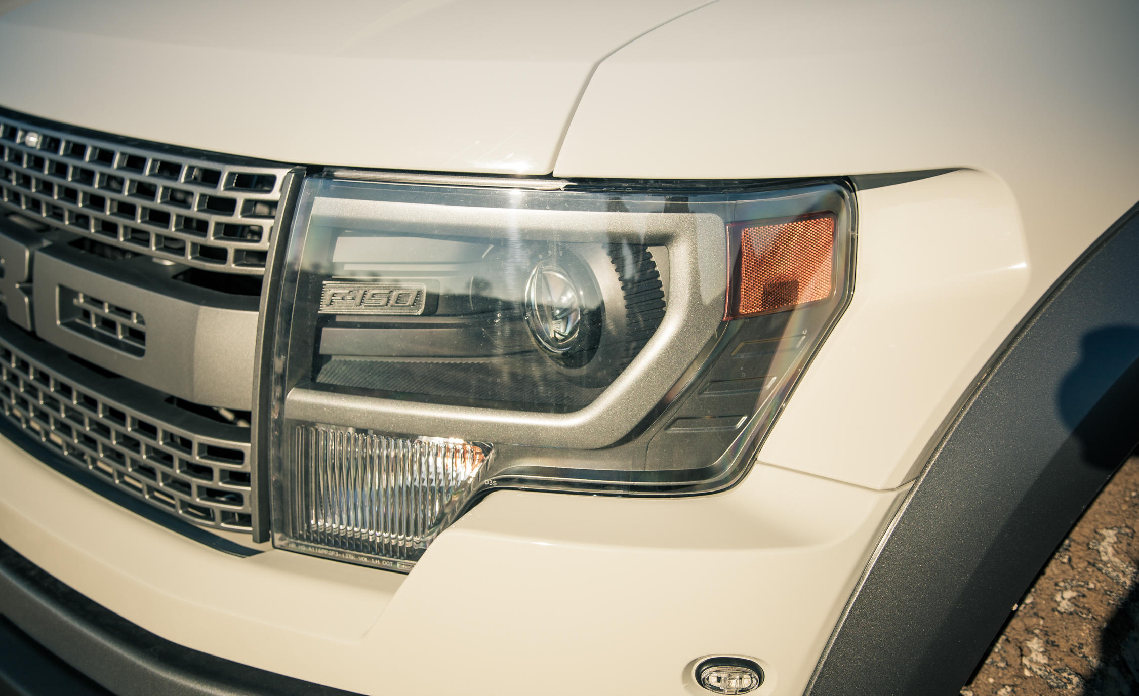 2013 Ford F 150 SVT Raptor Exterior View Headlight (Photo 8 of 39)