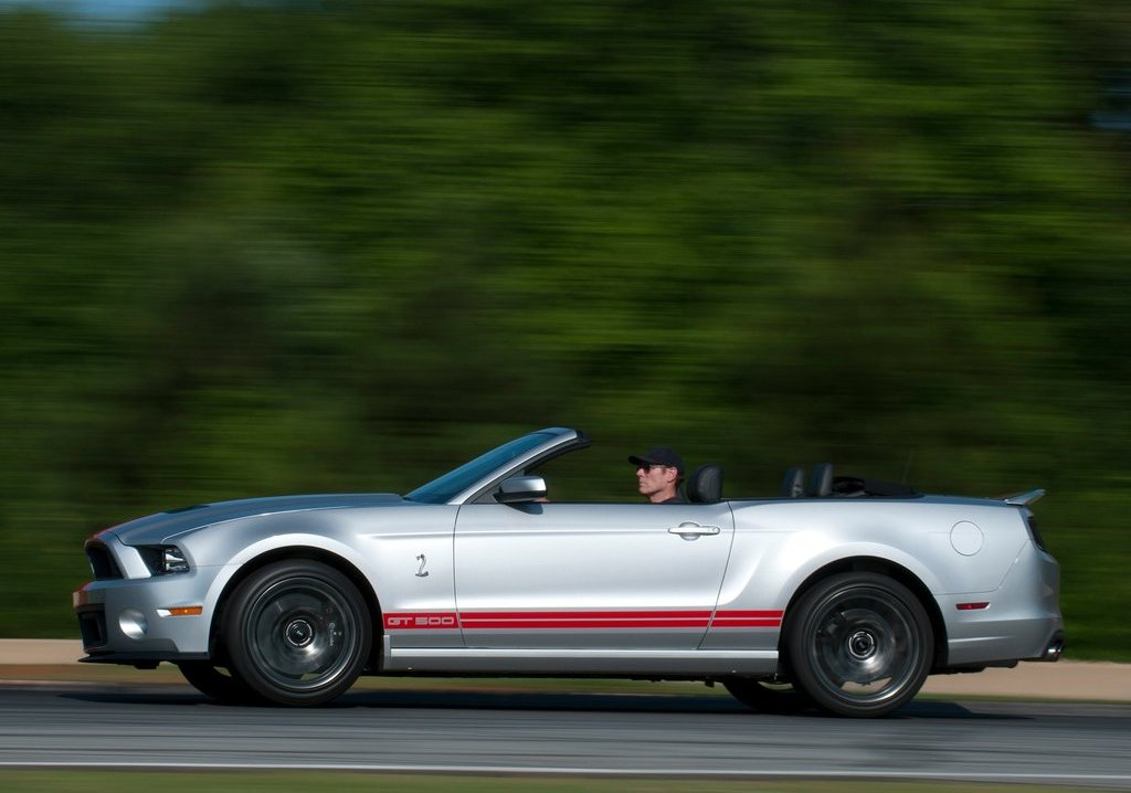 2013 Ford Mustang Shelby GT500 Convertible Side (View 5 of 6)