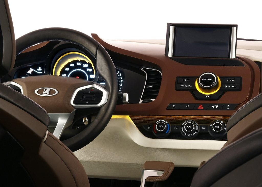 2012 Lada XRay Concept Dashboard (Photo 2 of 5)