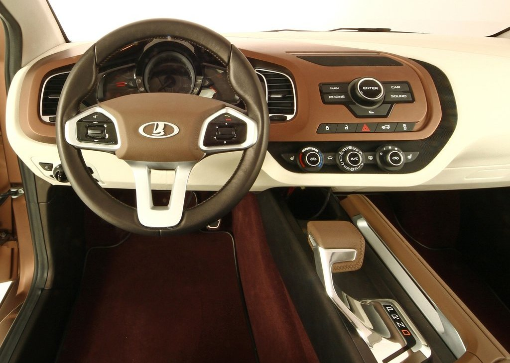 2012 Lada XRay Concept Interior (Photo 3 of 5)