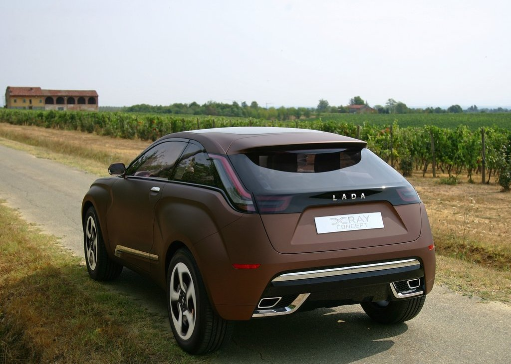 2012 Lada XRay Concept Rear (Photo 4 of 5)