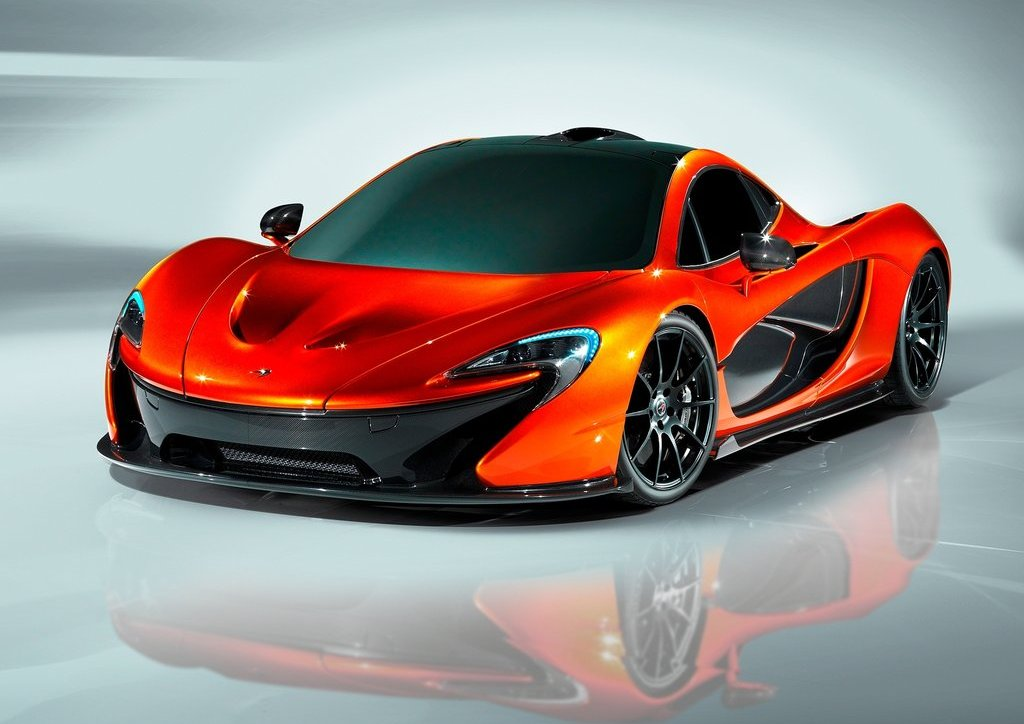 2012 McLaren P1 Concept (Photo 1 of 6)