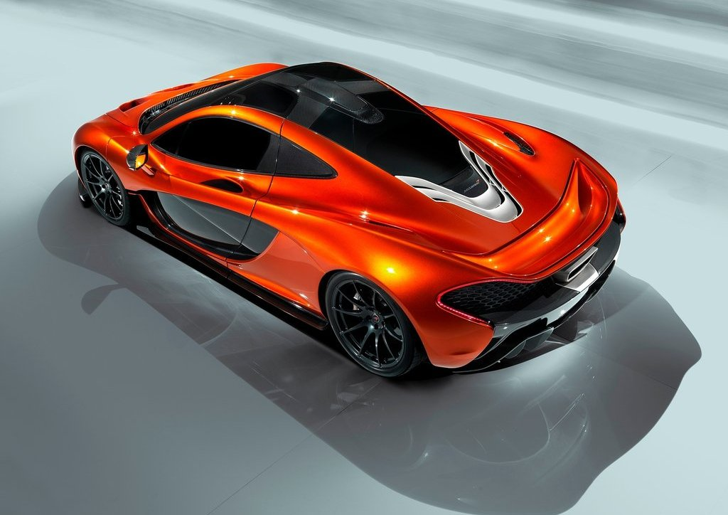 Featured Image of 2012 McLaren P1 At Paris Motor Show