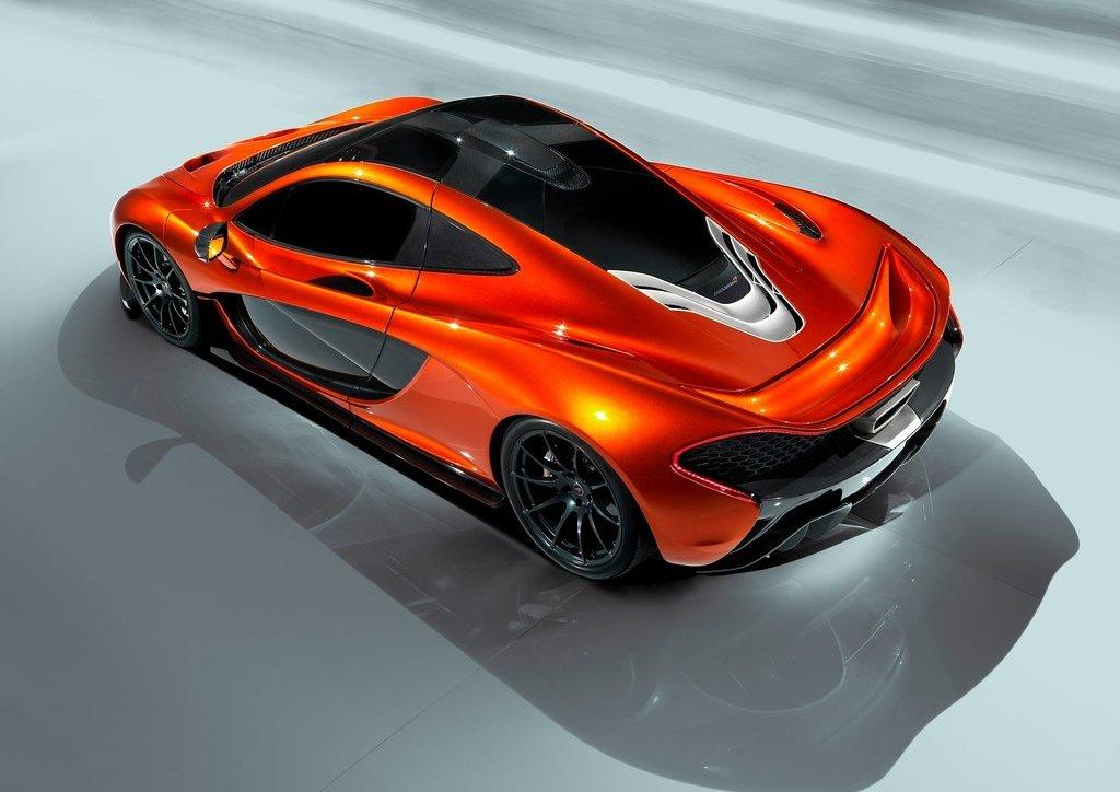 2012 McLaren P1 Top View (Photo 6 of 6)