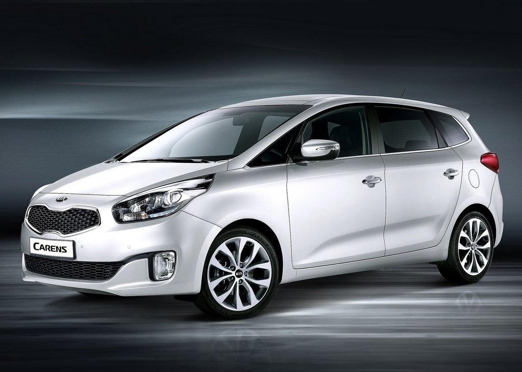 2013 Kia Carens at 2012 Paris Motor Show Pictures Gallery (4 Images)