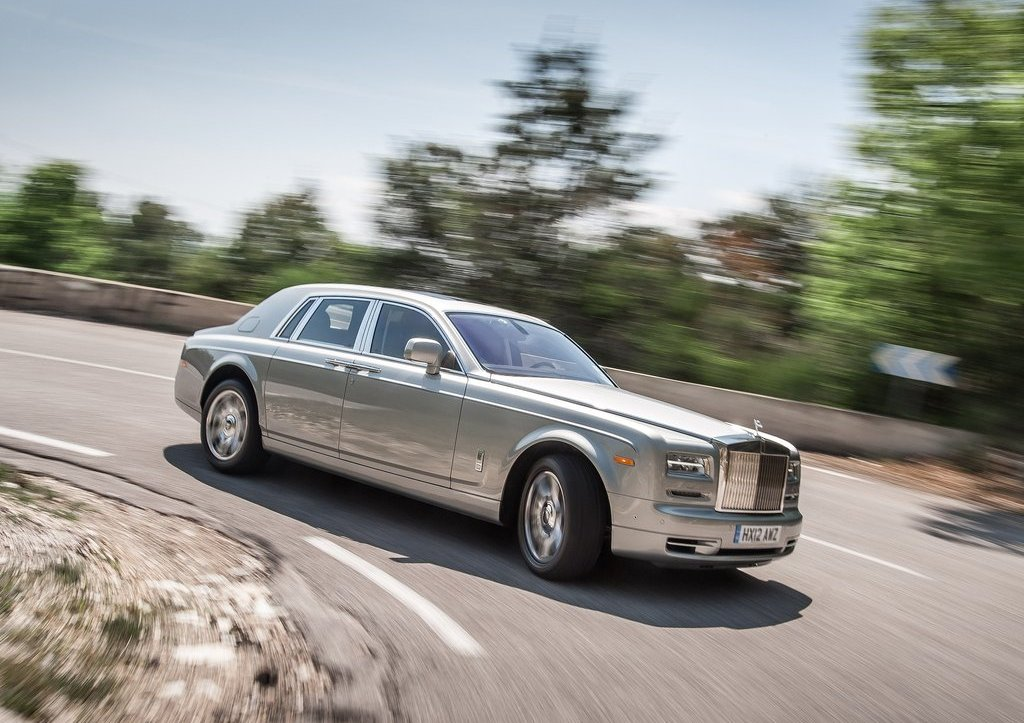 2013 Rolls Royce Phantom Side (View 10 of 12)