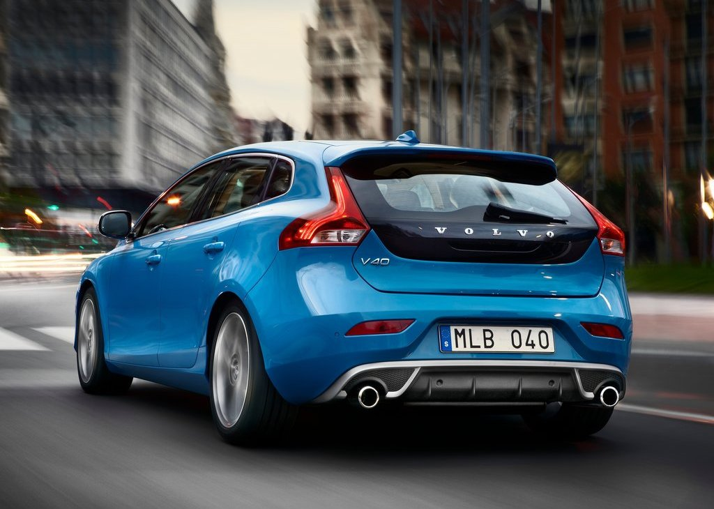 2013 Volvo V40 R Design Rear (View 4 of 6)