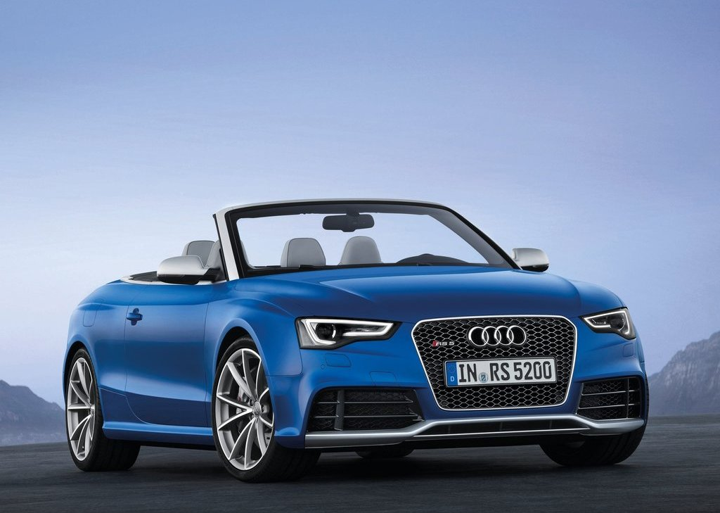 2014 Audi RS5 Cabriolet At Paris (View 1 of 2)