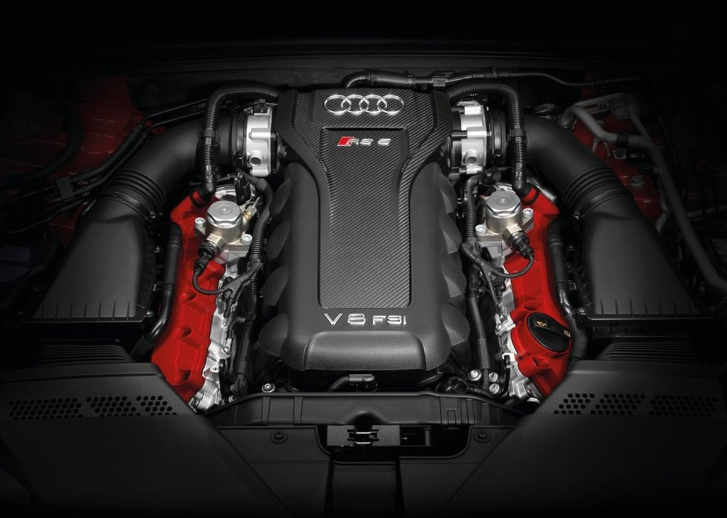 2014 Audi RS5 Cabriolet Engine (Photo 2 of 9)