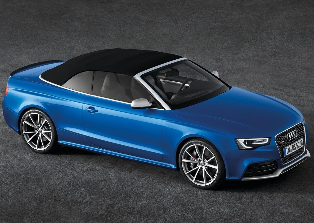 2014 Audi RS5 Cabriolet Front Angle (Photo 4 of 9)